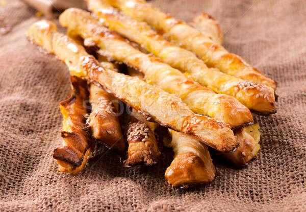 Stock photo: Cheese snack