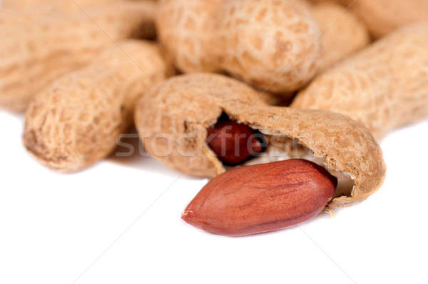 Peanuts isolated Stock photo © badmanproduction
