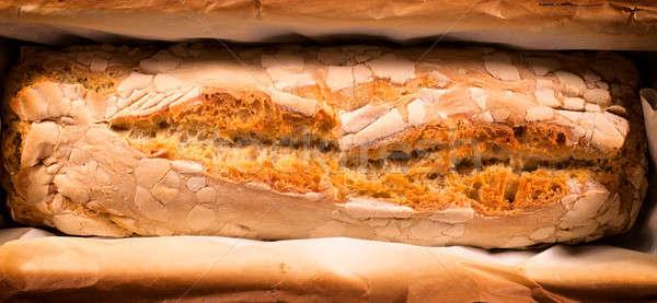 Domestic bread Stock photo © badmanproduction