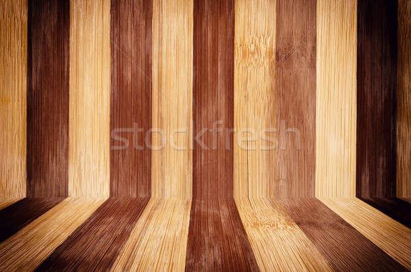 Wooden box Stock photo © badmanproduction