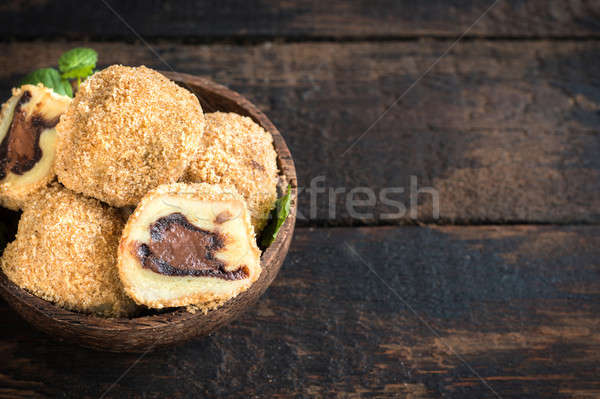 Sweet dumplings Stock photo © badmanproduction