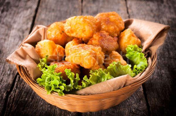 Potato croquettes Stock photo © badmanproduction