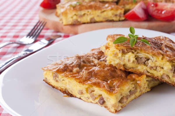 Serbian pie  Stock photo © badmanproduction
