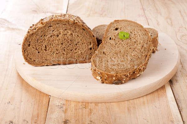Whole grain bread Stock photo © badmanproduction
