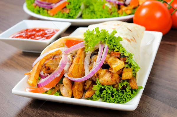 Donner kebab Stock photo © badmanproduction