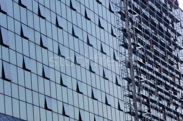 Financial building Stock photo © badmanproduction