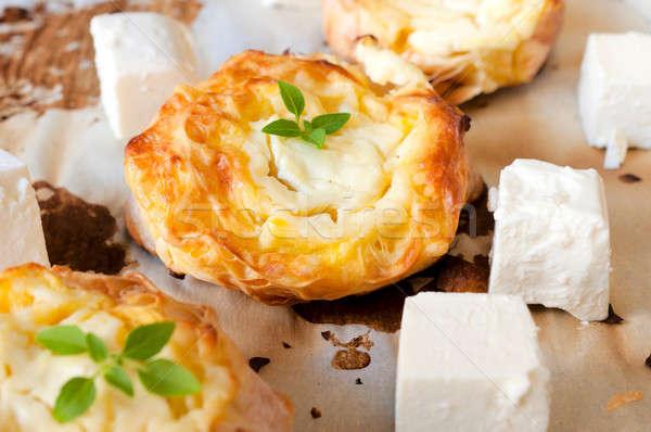 Feta pie  Stock photo © badmanproduction