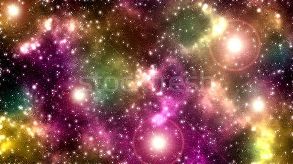 Spaţiu abstract constelatie una clasic modern Imagine de stoc © badmanproduction