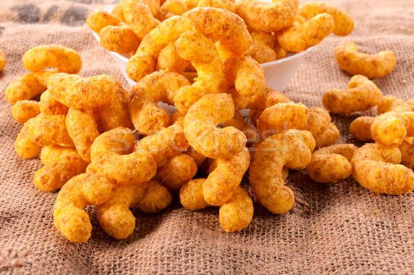 Peanut puffs Stock photo © badmanproduction