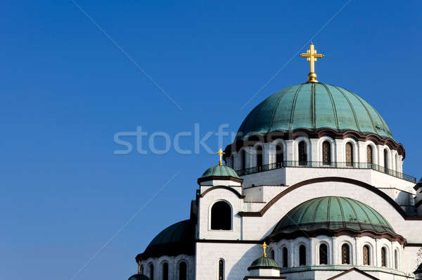 Stock photo: Chruch roof