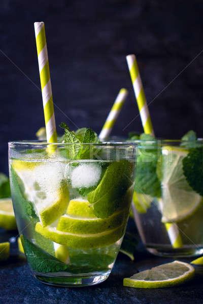 Summer refreshment Stock photo © badmanproduction