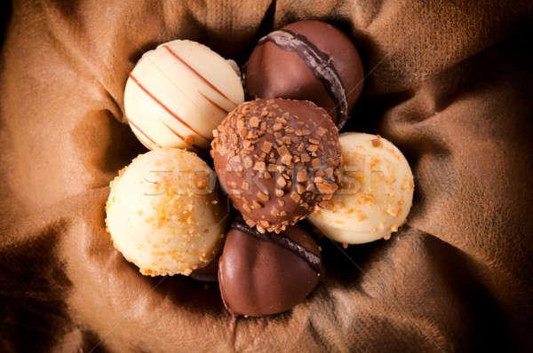 Stock fotó: Csokoládé · hagyományos · Belgium · fehér · étcsokoládé · étel
