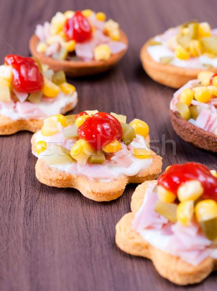 Little snacks Stock photo © badmanproduction