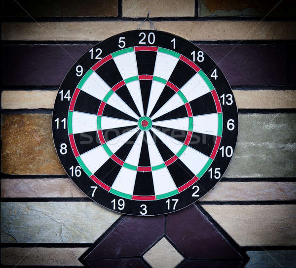 Darts board Stock photo © badmanproduction