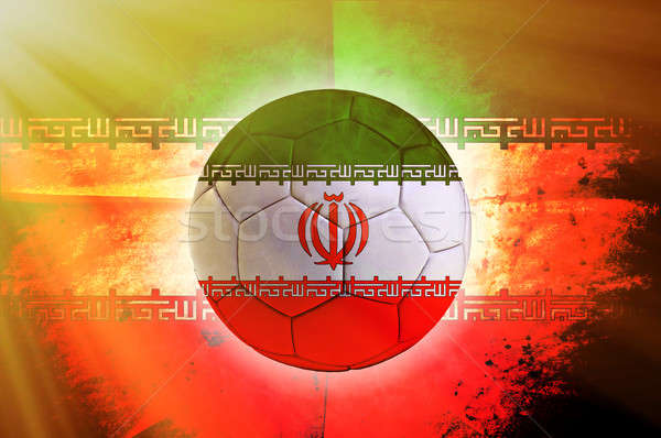 Iran ball Stock photo © badmanproduction