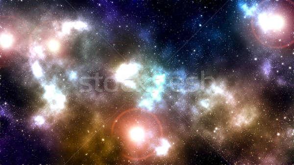 Space Background  Stock photo © badmanproduction