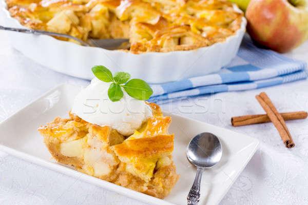 Taty apple pie Stock photo © badmanproduction