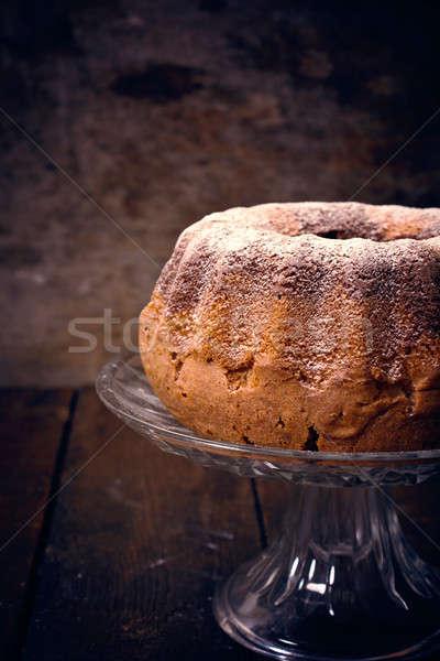 Marble cake time Stock photo © badmanproduction