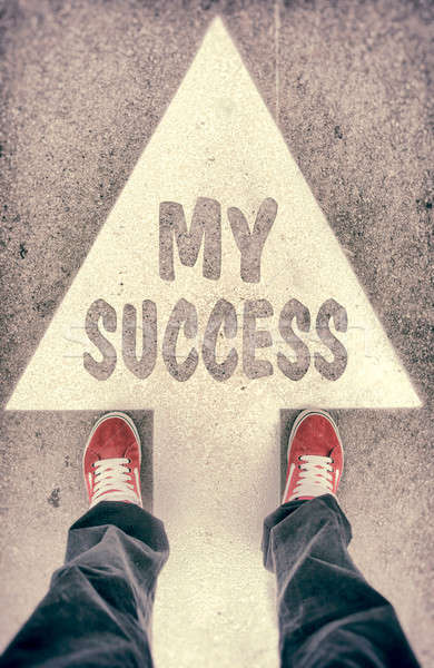 My success concept Stock photo © badmanproduction