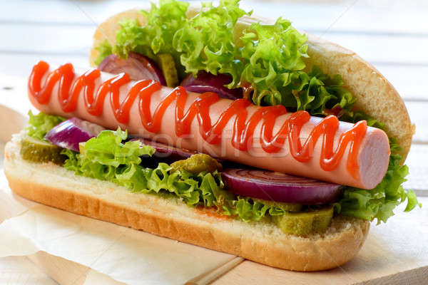a history of the hotdog