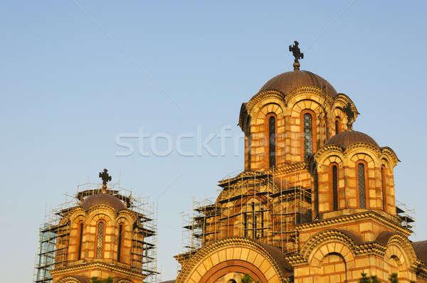 Church St.Marko in Belgrade Stock photo © badmanproduction