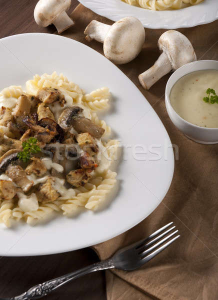 Pastry and meat Stock photo © badmanproduction