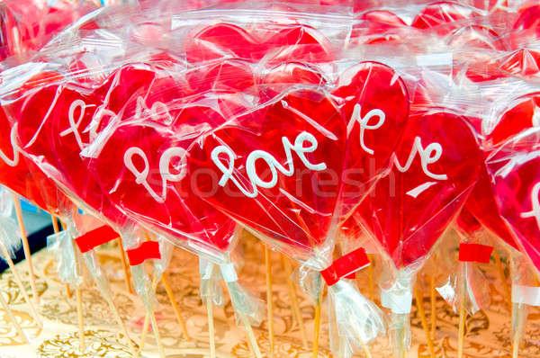 Love lolly pops Stock photo © badmanproduction