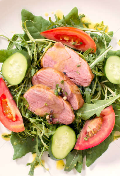 Juicy meat Stock photo © badmanproduction