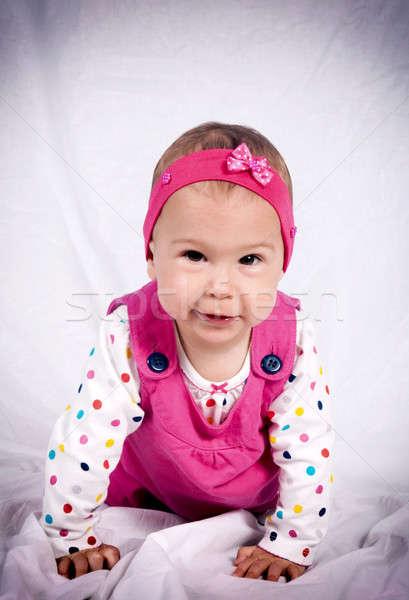 Cute baby Stock photo © badmanproduction