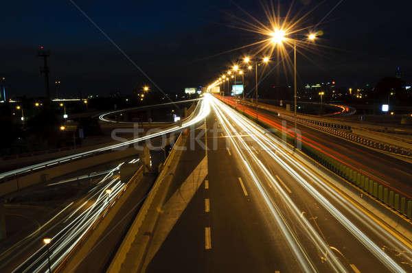 Belgrade traffic Stock photo © badmanproduction