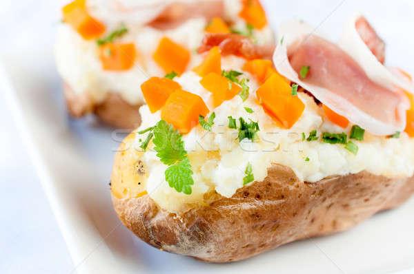 Tasty potatoe Stock photo © badmanproduction