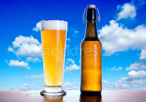 Beer time Stock photo © badmanproduction