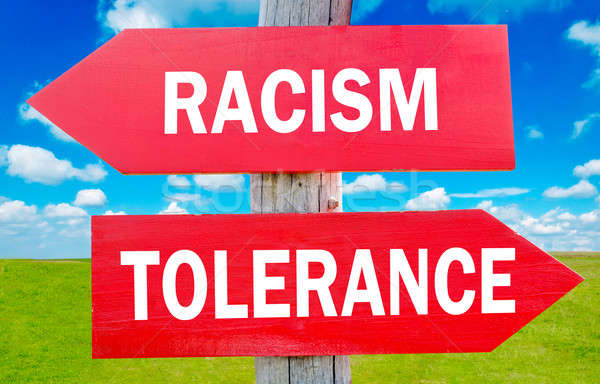 Racism and tolerance Stock photo © badmanproduction