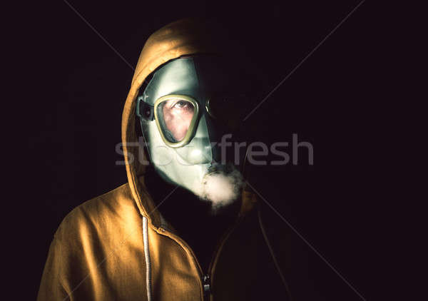 Man with the mask Stock photo © badmanproduction
