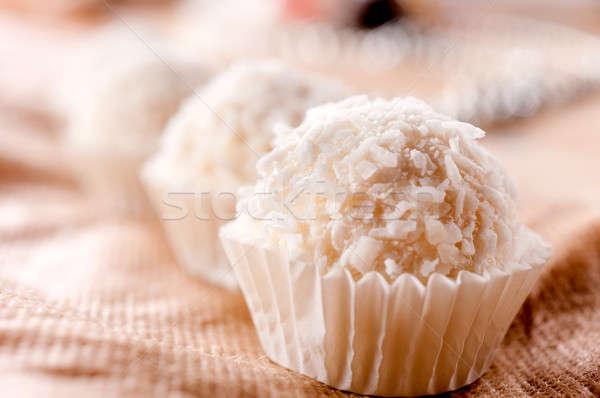 Coconut praline Stock photo © badmanproduction