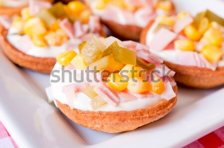 Stock photo: Appetizer time
