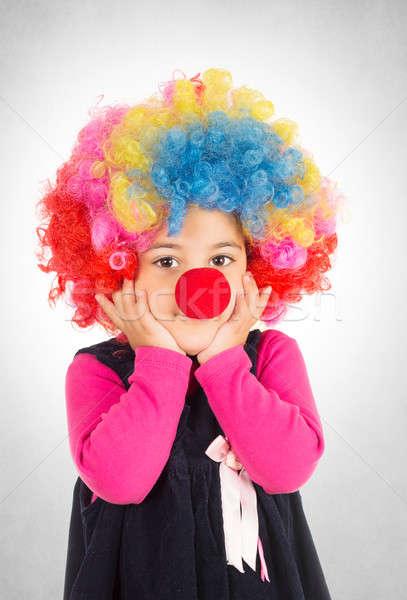 Worried clown Stock photo © badmanproduction