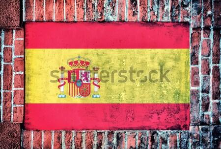 Old German flag Stock photo © badmanproduction