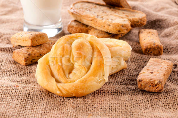Serbian pastry Stock photo © badmanproduction