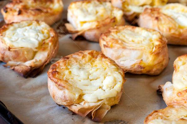 Cheese pie Stock photo © badmanproduction