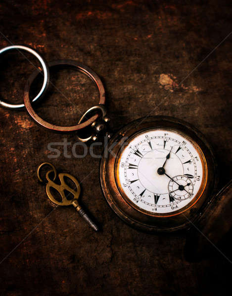 Old vintage watch Stock photo © badmanproduction