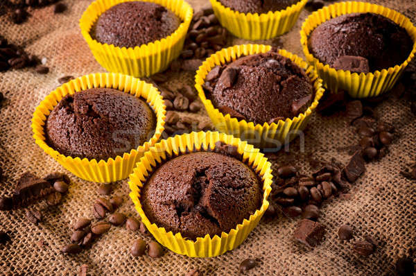 Cup Cakes  Stock photo © badmanproduction