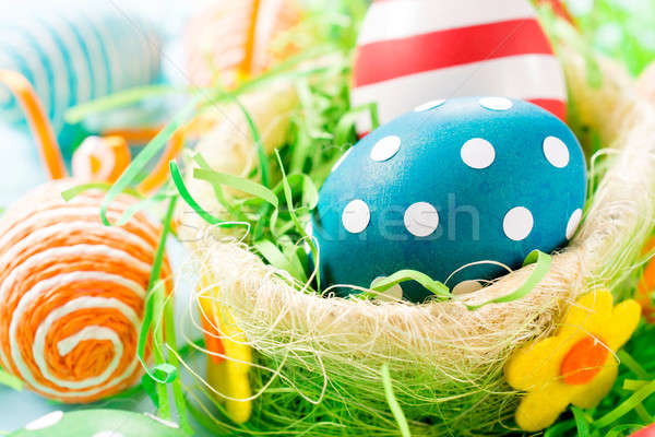 Dotted easter egg Stock photo © badmanproduction