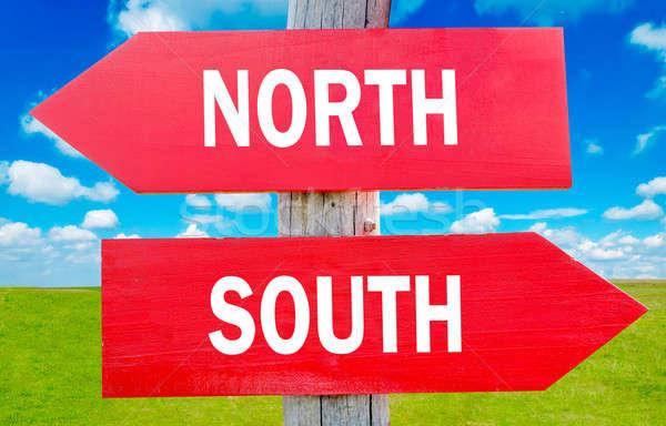 Settentrionale meridionale scelta strategia cambiare Foto d'archivio © badmanproduction