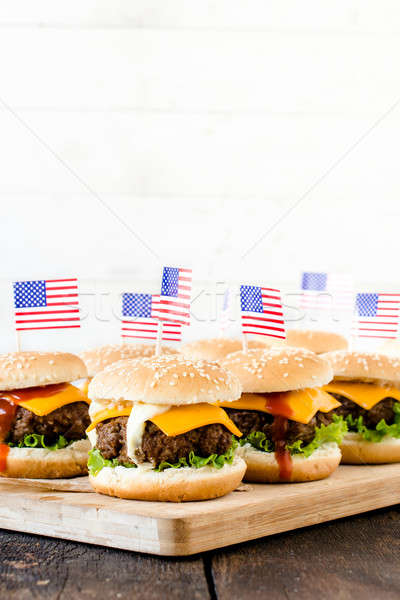 American cuisine Stock photo © badmanproduction
