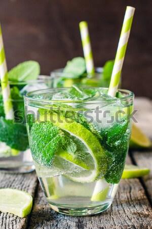 Lime refreshment Stock photo © badmanproduction
