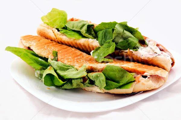 Sandwich par Stock photo © badmanproduction