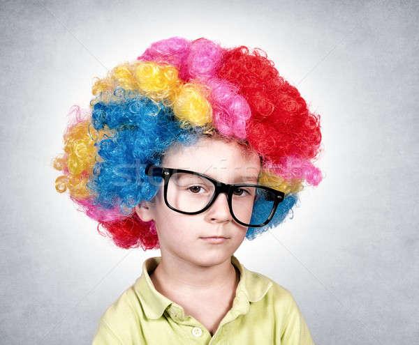 Bored clown Stock photo © badmanproduction