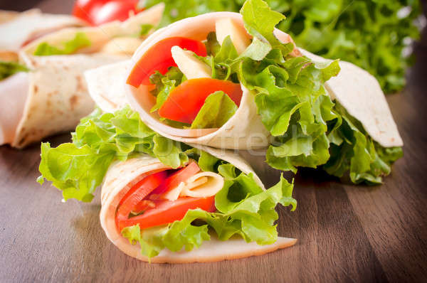 Junk food Stock photo © badmanproduction
