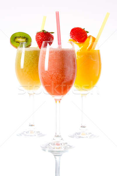 Fresh smoothies Stock photo © badmanproduction